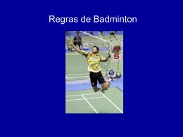Regras badminton