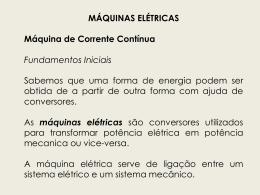 Fundamentos máquina CC Ficheiro