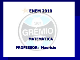 10 - ENEM 2010 - MATEMÁTICA