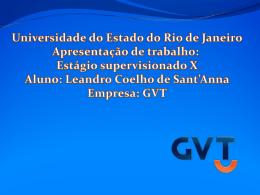 Apresentação Leandro Coelho de Sant`Anna