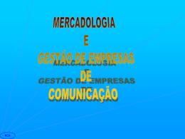 Mercadologia e Gestão de Empresas