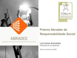 Prêmio Abradee de Responsabilidade Social