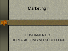 Marketing no Século XXI