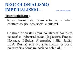 NEOCOLONIALISMO IMPERIALISMO