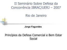 UERJ - FA Consultoria Econômica
