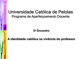 Apresentação Professora Myriam Cunha 2º encontro