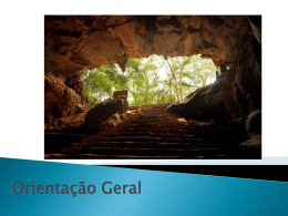 Orientação Geral CDM – 6º Ano.