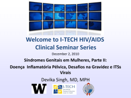 Caso - Global Health Clinical Seminar Series