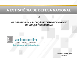 Apresentação Institucional Atech