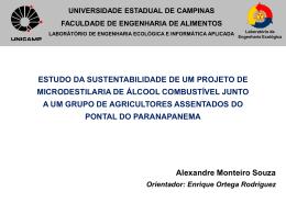 Microdestilaria - Alexandre Souza