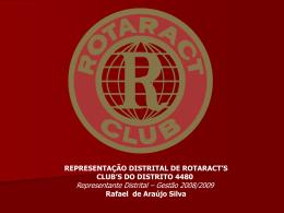 Gestão 2008/2009 Rafael de Araújo Silva