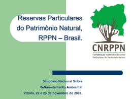 O que é RPPN?