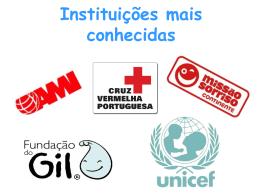 Instituições mais conhecidas Unicef