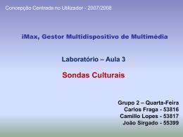 Laboratório 2 – Grupo 1