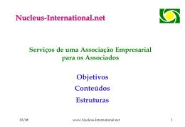 P51 - Serviços de uma Associação Empresarial para os Associados