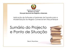 Registo Moçambicano De Entidades Legais.