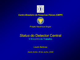 Status do Detector Central