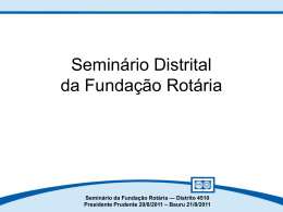 Fundo Anual para Programas