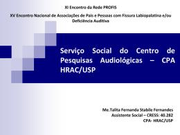 CPA HRAC/USP - Rede Profis
