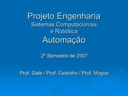 Projeto Tecnologia 2007