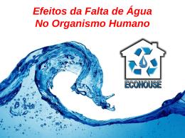 Falta de Água no Organismo