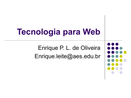 Tecnologia para Web