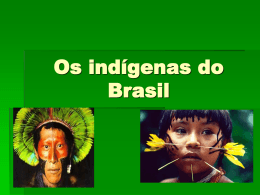 Os indígenas do Brasil