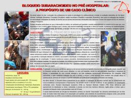 BSA no pr-hospitalar - Emergência Médica do Hospital de São