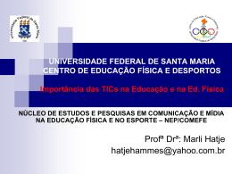 UNIVERSIDADE FEDERAL DE SANTA MARIA - nep
