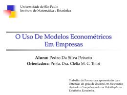 slides - IME-USP - Universidade de São Paulo