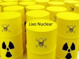11.Lixo Nuclear