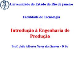 Sistemas de Produção I