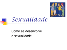 sexualidade power point.