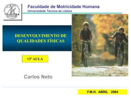 DM - Faculdade de Motricidade Humana