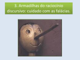 3ª aula 1º bimestre Falácias