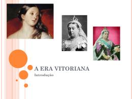 A ERA VITORIANA - literaturabritanicaii