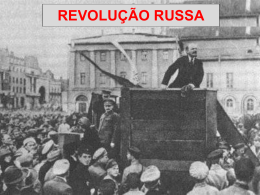 A crise que levou à derrubada do poder dos czares na Rússia