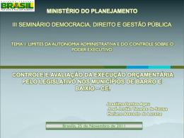 Esp. Joseilma Dantas Ageu Co-orientadora: Msc. Lamara Fábia L