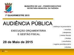 município de ijuí – poder executivo
