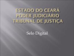 Estado do Ceará Poder Judiciário Tribunal de Justiça
