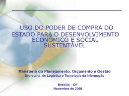 RogerioSantana - Unidade de Coordenação de Programas