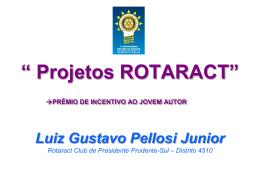 ROTARACT PREMIO DE INCENTIVO AO JOVEM