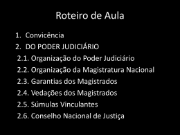 Poder Judiciário I