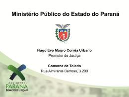 Ensino Médio - Promotor de Justiça Hugo Urbano 14/08/2012