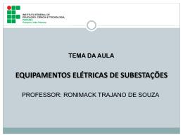 transformadores - Prof. Ronimack Trajano