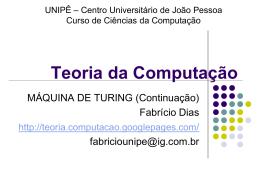 Teoria da Computacao-Aula15