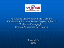 Universidade do Estado do Pará Centro de Ciências