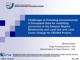 Challenges in Providing Environmental & Geospatial Data for