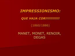 impressionismo - Colégio e Curso Simbios