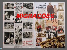 Migrações - GEOGRAPHICAE